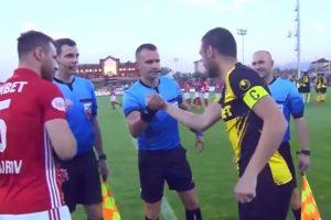 O Momento Insólito Durante o Sorteio De Campo Na Liga Búlgara 10