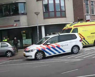 Agente Imita Som De Sirene Enquanto Segue Num Carro Policial Em Emergência 2