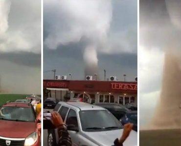 Tornado Na Roménia Vira Autocarro e Faz 12 Feridos, Um Em Estado Grave 3