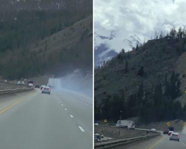 Camionista Deteta Falha Nos Travões e Evita Acidente Ao Usar Saída De Emergência 4