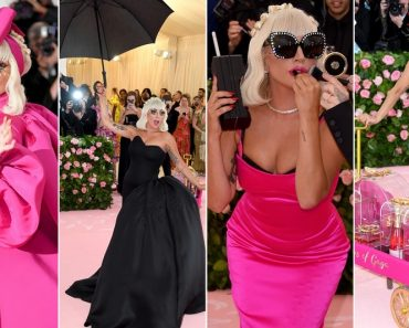 Lady Gaga Arrasa Na Chegada Ao MET Gala 2019 e Acaba Em Lingerie 12