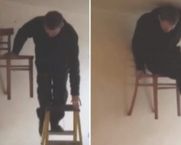 Como Não Testar a Resistência De Uma Cadeira 7