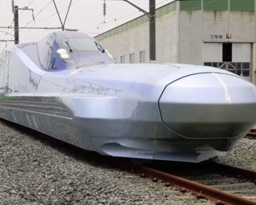Japão Desvenda Comboio Capaz De Viajar a 400km/h 4