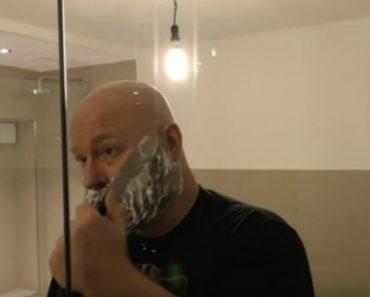 Homem Usa a Sua Própria Barba Para Criar Fisga e Respetivas Munições 8