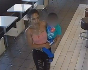 Mulher Filmada a Tentar Raptar Criança De Quatro Anos Em McDonald's 2