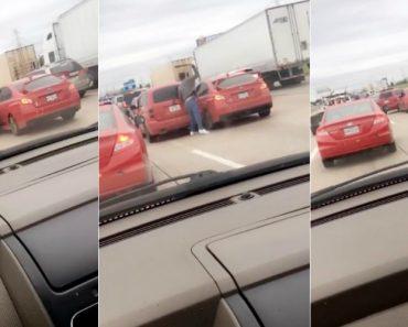 Dois Condutores Que Acordaram De Mau Humor Envolvem-se Em Estranho Confronto De Trânsito 4