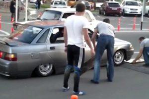 Técnica Para Passar Nas Lombas Quando Se Tem Um Carro Exageradamente Rebaixado 9