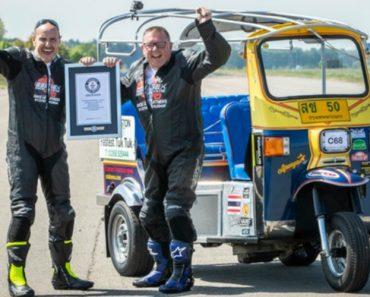 Tuk-Tuk Modificado Atinge 119 km Por Hora e Bate Recorde Mundial 8