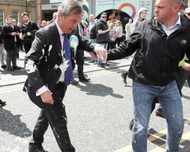 Político Britânico Atingido Por Batido Durante Campanha Eleitoral 5