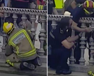 Bombeiros Resgatam Criança Com Cabeça Presa Entre Pilares Em Sevilha 1