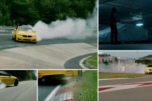BMW M4 Levado Ao Limite Na Mítica Pista De Nürburgring 9