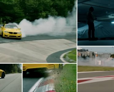 BMW M4 Levado Ao Limite Na Mítica Pista De Nürburgring 8
