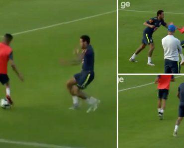 """Neymar Leva """"Cueca"""" De Jovem Internacional De 19 Anos e Acaba Logo Ali Com a Brincadeira 6"""