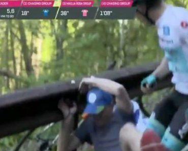 Insólito: Ciclista Desata Às Chapadas a Espectador Que o Atirou Ao Chão 1