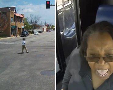 Motorista De Autocarro Salva Criança Que Estava No Meio Da Estrada 6