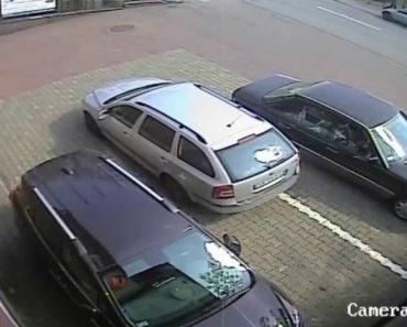 Péssima Condutora Põe-se Em Fuga Após Inacreditável Manobra De Estacionamento 4
