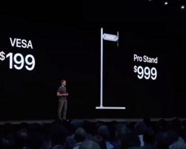 A Reação Do Público Quando a Apple Anunciou o Preço Do Suporte Do Seu Novo Monitor 1