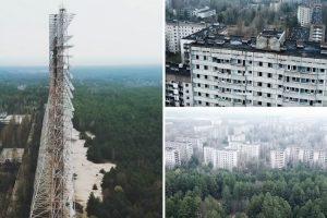 Filmagem Aérea Mostra Como Se Encontra Atualmente a Cidade De Chernobyl 10