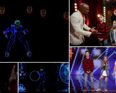 Light Balance Kids Deslumbram No America's Got Talent Com Coreografia De Luz 7