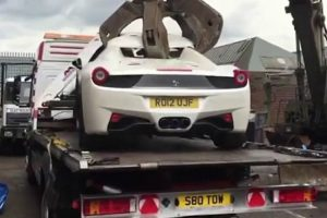 Ferrari 458 Spider Fica Totalmente Destruído Após Ser Confiscado Pela Polícia 15