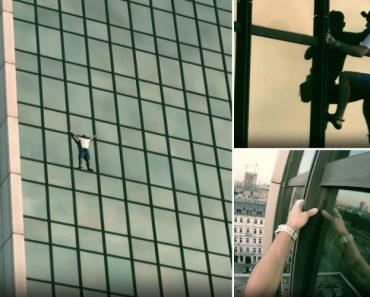 Homem é Preso Após Escalar Prédio De 170 Metros Sem Qualquer Equipamento De Proteção 1