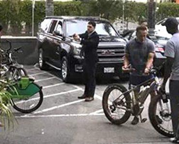Ladrão Tenta Roubar a Bicicleta De Arnold Schwarzenegger… Mas Dá-se Mal 2