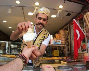 Vendedor De Gelados Dá Espetáculo Na Turquia 3