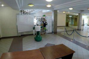 Robot Evita Queda De Criança Em Universidade Russa 11