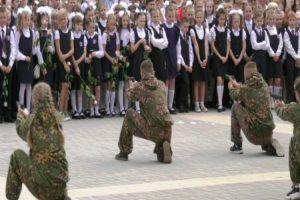 exibição militar