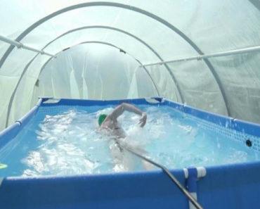 nadadora profissional
